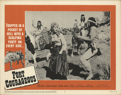Fort Courageous 1965 11x14 Orig Lobby Card FFF-28151 Don 'Red' Barry Western