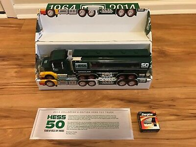 2014 Hess Truck 50th Anniversary 1964-2014 Collectors Limited Edition Box 50 yrs