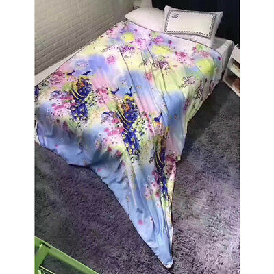 Top Chinese Traditional Art Silky Real Silk Filled Duvet Quilt King size