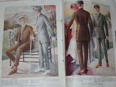 Vintage 1913 'rulers Of The World' & Clothing Catalog! Woodrow Wilson! Wilhelm +