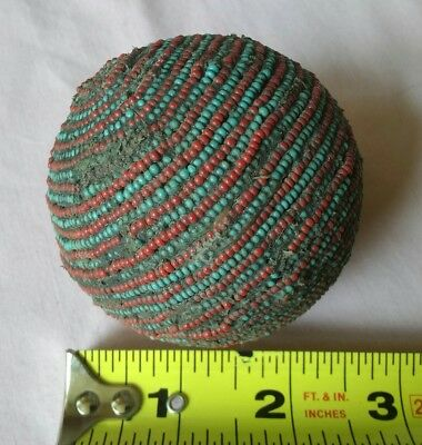 North American Sioux Beaded Ball