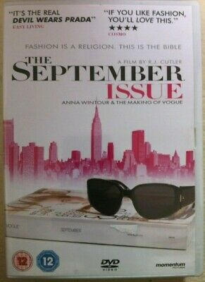 Le septembre Numéro ~2009 Magazine VOGUE Fly-on-the-wall DOCUMENTAIRE DVD