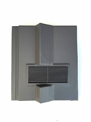 Roof Tile Vent To Fit Redland Delta | Grey | 8 Colours | Smooth / Granular