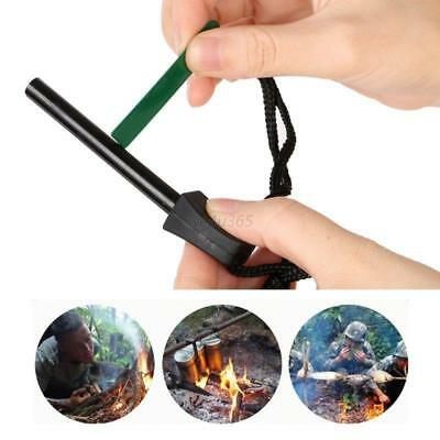 Survival Magnesium Flint And Steel Striker Fire Starter Stick Camping it
