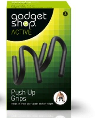 NEW GADGET SHOP Active Push up Grips (x2) Workout Upper Body FREE Postage