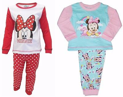 Disney Baby Girls Minnie Mouse Little Dreamer Pyjamas 6 - 24 Months