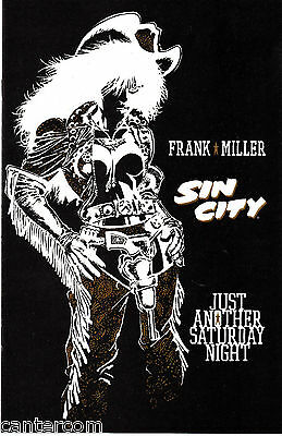 SIN CITY JUST ANOTHER SATURDAY NIGHT NM 1998 Dark Horse Comics Frank Miller