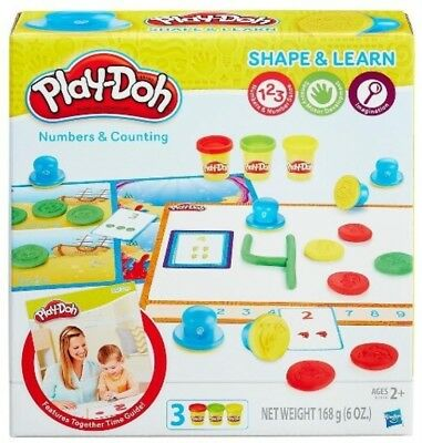 NEW Playdoh Numbers And Counting from Mr Toys