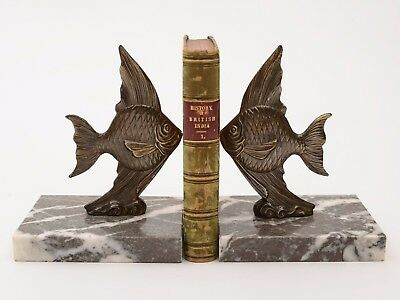 Pair of French Art Deco Bookends, Circa 1920