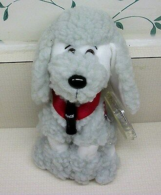 "Coca Cola International Beanie "" Strudel French Poodle""  France  MWT"