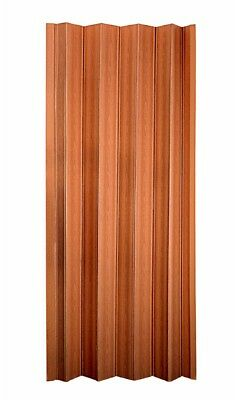 New Spectrum 36-in x 80-in Brown Pecan Double Wall Vinyl Panels with Hardware