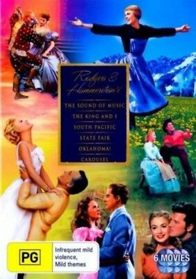 RODGERS And HAMMERSTEIN'S Collection DVD 6-CLASSIC MUSICALS 6-DISCS BRAND NEW R4
