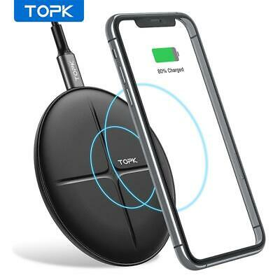 New Apple iPhone 8 8 Plus iPhone X Qi Wireless Charging Charger Plate Receiver