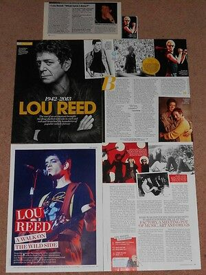 6- LOU REED Magazine Clippings