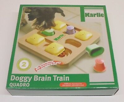 Karlie (149) Doggy Brain Train Quadro - Motivations- & Denkspiel - für Hunde -