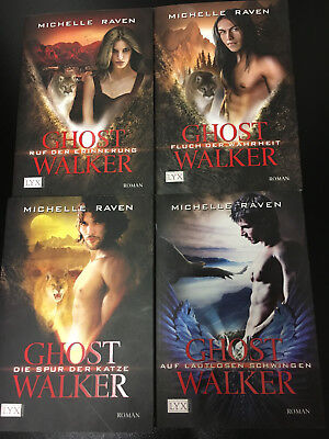 GHOST WALKER Bd. 1-4 Michelle Raven - Gestaltwandler Reihe !!TOP!!