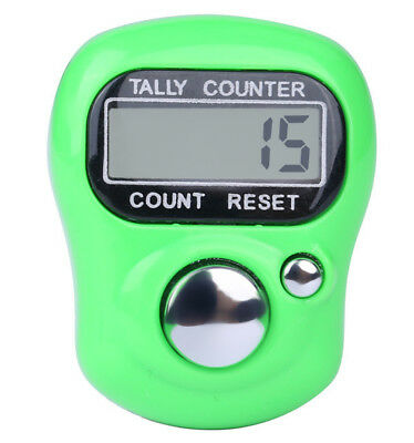 Digit Digital LCD Electronic Finger Hand Ring Knitting Row Tally Counter New