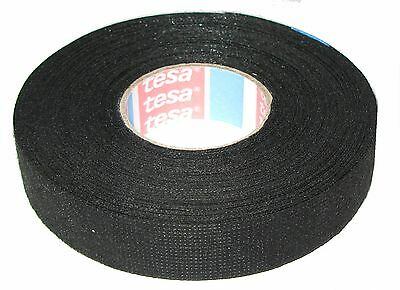 Tesa Motor Vehicle Fabric Tape with Fleece 51608 19mm x 25m Adhesive Mwst.
