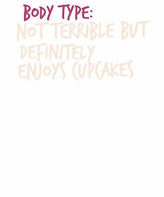 """""""Body Type Cupcakes"""" Funny Food Eating Screensaver - Free Economy Shipping"""