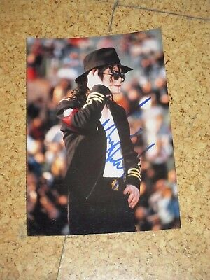 RAR! The King of Pop MICHAEL JACKSON Originalautogramm TOP-FOTO!