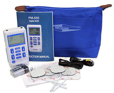 Digital EMS Muscle Stimulator Three Mode - Quality EMS Unit PM-555