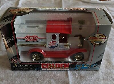 Vintage Limited Edition Pepsi Cola Die Cast Truck Gift Bank 1996