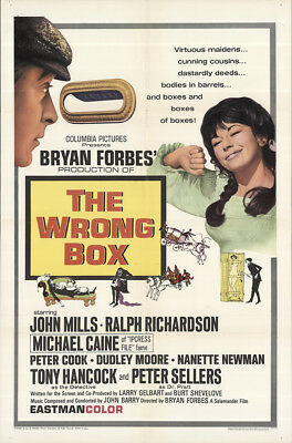 The Wrong Box 1966 27x41 Orig Movie Poster FFF-62404 Fine, Very Fine