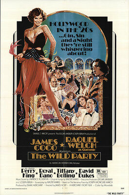 The Wild Party 1975 27x41 Orig Movie Poster FFF-33551 Fine, Very Good