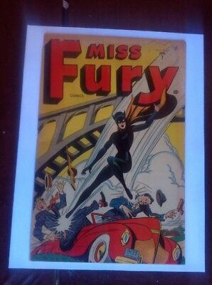 Miss Fury #7 Timely-GGA