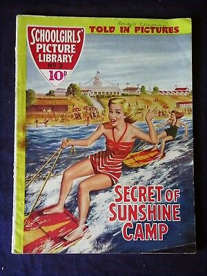 THE Schoolgirls's Picture Library No.7, Secret of Sunshine Camp (1957)