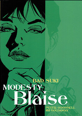 MODESTY BLAISE BAD SUKI Titan Books 2005 First Edition PB ISBN 9781840238648