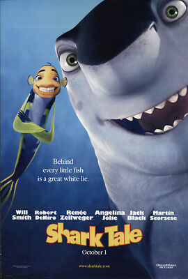 Shark Tale 2004 27x41 Orig Movie Poster FFF-54856 Rolled Fine, Very Good