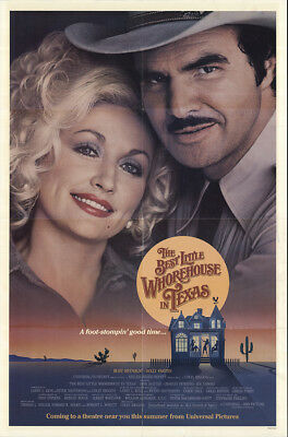 The Best Little Whorehouse in Texas 1982 27x41 Orig Movie Poster FFF-57555 Fine