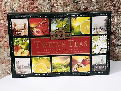 New Twelve TEA , 12 x 5 = 60 bustine dentro Aluminium , Best Before  30/04/2020