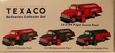 First Gear Texaco 4 Truck Set 1955 Diamond T Employee Edition Same Serial # 315