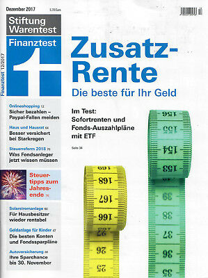 stiftung warentest magazin
