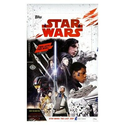 2017 Topps Star Wars The Last Jedi Hobby Box New/Sealed ON SALE