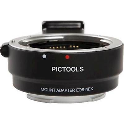 Pictools PTEF-SE-AF lens adapter EOS to Sony NEX/E mounts
