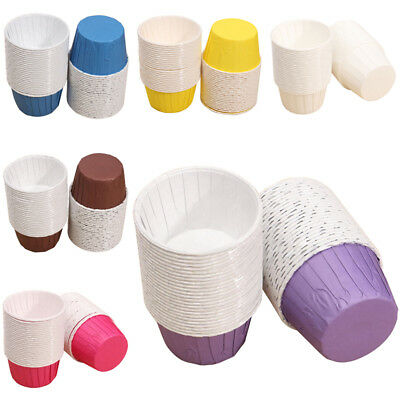 50X Paper Baking Cup Cake Cupcake Cases Liners Muffin Dessert Wedding Party U7L1