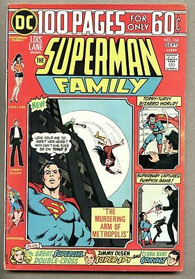 Superman Family #166-1974 fn 3rd issue Giant Size 100 page Giant Supergirl