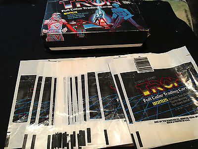 1981 Donruss Tron Trading Card Wax Pack Wrapper - Wrapper Only - You get THREE