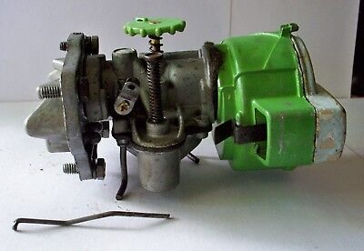 Used Lawnboy model D-408 carb & air filter cover & reed plate ,fits D series