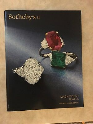 Sotheby's Magnificent Jewels New York December 5, 2017