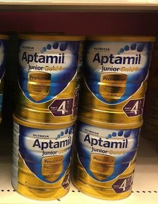 Aptamil Gold+ 4 stage, Suitable From 2years Child. 900g*3 Can