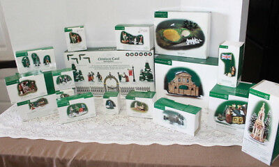 LARGE Lot 18 Dept 56 Heritage Dickens Village People Accessories DON'T MISS THIS