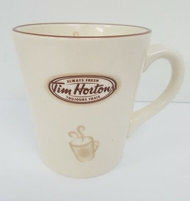 TIM HORTONS Always Fresh 16 oz. Coffee Mug/Cup Limited Edition No 007 Collector