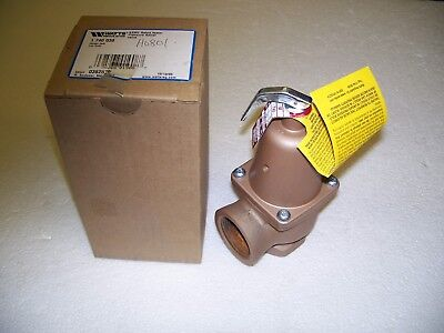 """Watts 740 1"""" Pressure Relief Valve-New-N.o.s.-""""made In U.s.a.""""-Liquidation Sale!"""