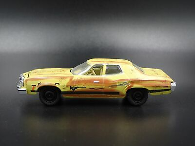 1973 FORD GRAN Torino The Big Lebowski Dude's 4 Door Car 1:64 Diecast Model  Car
