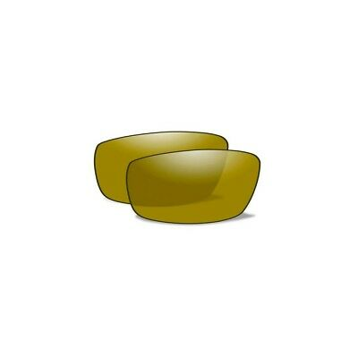 WILEY X Polarized Gold Mirror Lenses for BOSS