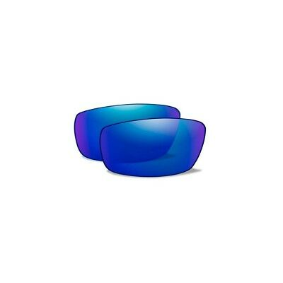 WILEY X Polarized Blue Mirror Lenses for TIDE